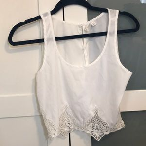 Cropped Nordstrom top